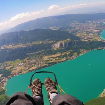 Fly Through Clouds And Fog During Paragliding In The World's Best Paragliding Destinations