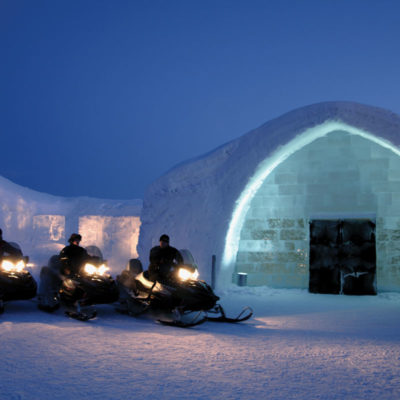 Venture North To An Ice Hotel In Sweden