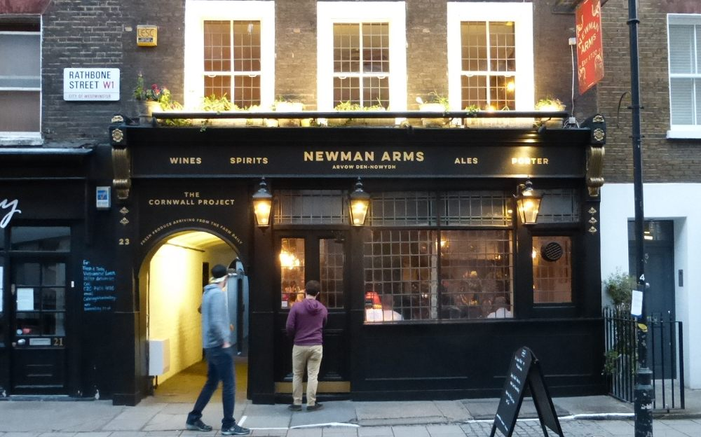 The Newman Arms Pie Room