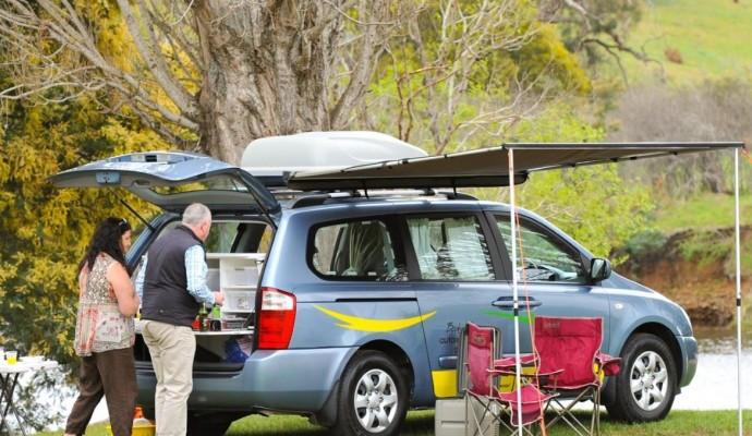 rent a car or campervan